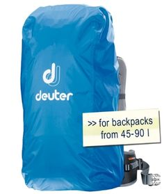 Rain covers ensure the contents of your rucksack are still dry after a day out in bad weather.Excellent rain protection thanks to PU coating and taped seams