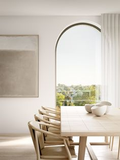 The rare opportunity for an exclusive residence designed by Rob Mills Architecture & Interiors (RMA) has arrived with their Hampden project; designed and delivered by RMA. White Dining Room Table, Dining Room Sets, Dining Room Chairs, Dining Room Furniture, Furniture Stores, Rustic Furniture, Royal Oak Floors, Modern Kitchen Tables, Interior Architecture