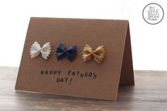 The Best DIY Father's Day Card handmade craft for kids to make for dad