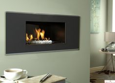 Buy the Verine Atina High Efficiency Hole In The Wall Gas Fire from Direct Fireplaces with easy pay finance options and Fast Free UK Delivery. Decor, Wall Gas Fires, Room, Interior, Living Flame Gas Fire, Gas, Wall, Home Decor, Gas Fireplace