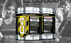 2-Pack of Cellucor C4 Pre-Workout Supplements. Multiple Flavors Available.