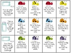 Listening Ladybugs: A Following Directions game from @SublimeSpeech (Danielle Reed) (Danielle Reed)