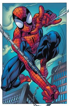 #Spiderman #Fan #Art. (Ultimate Spider-Man) By: Mark Bagley. (THE * 5 * STÅR * ÅWARD * OF: * AW YEAH, IT'S MAJOR ÅWESOMENESS!!!™)[THANK Ü 4 PINNING!!!<·><]<©>ÅÅÅ+(OB4E)