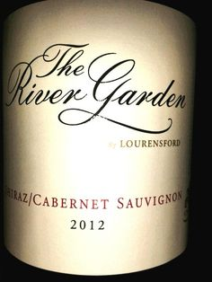 The River Garden, Cabernet Sauvignon Blind tasting at Intro to wine course with Penny Lancaster. Penny Lancaster, Cabernet Sauvignon, Cellar, Blind, Theory, South Africa, River, Bottle