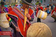 Danzas y Música Autóctona en La Paz, Bolivia | http://nomadbiba.com/es/danzas-musica-autoctona-la-paz-bolivia/