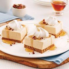 Mini-cornets au beurre d'érable et chocolat - 5 ingredients 15 minutes Mousse Dessert, Mousse Cake, Mini Desserts, Easy Desserts, Dessert Simple, Desserts Chinois, Biscuits Graham, Gourmet Breakfast, Bread Cake