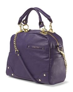 OLIVIA & JOY-Dynamo Double Handle Satchel- Dimensions: 13in W X 11in H Features: Detachable Strap Pockets: Back Zip Pocket, Front Slip Pocket, Interior Fabric Pockets Material: Polyurethane, Lining: Polyester