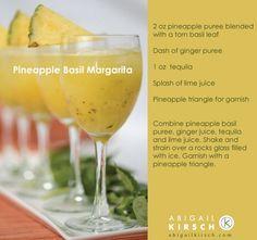 Recipe: Pineapple Basil Margarita