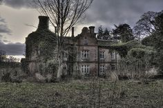 Derelict  Manor Hall by theflyinghaggis, via Flickr