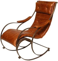 Mid Century Modern Chrome Upholstery Bentwood Style Rocking Chair R Mid Century Modern Upholstery And Mid Century