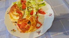 Könnyű rakott csirkemell - kotkodakonyhaja.hu Tacos, Mexican, Ethnic Recipes, Food, Eten, Meals, Diet
