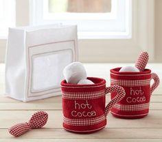 Hot Cocoa Set #PotteryBarnKids