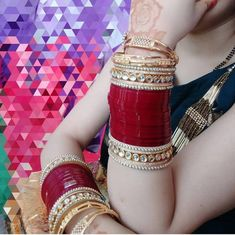 Indian Jewelry Earrings, Indian Jewelry Sets, Jewellery, Bridal Bangles, Bridal Jewelry Sets, Wedding Jewelry, Chuda Bangles, Wedding Chura, Bridal Chuda