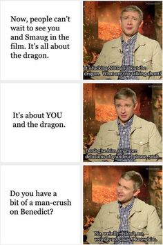 Martin Freeman (this made me laugh at laud so i had to pin it)( I apologize for the colorful language)