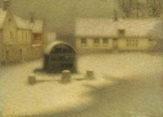 1901. The Snow (Henri Le Sidaner)