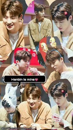 Wallpaper / Lockscreen Ikon Hanbin BI Kim Hanbin Ikon, Ikon Kpop, Ikon Wallpaper, Wallpaper Lockscreen, Funny Boy, Profile View, Always Smile, Yg Entertainment, Mandalas