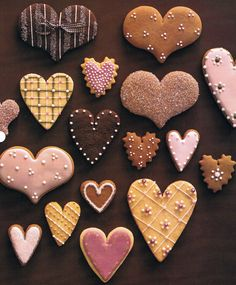 cookie hearts (Martha Stewart Living)