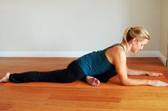 Yoga For Tight Hip Flexors | ... in yoga. It opens the deep muscles of the hip and the hip flexors