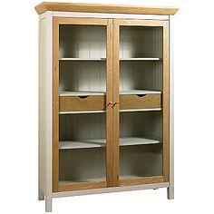Buy John Lewis Floyd Display Cabinet, Grey online at JohnLewis.com - John Lewis