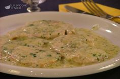 Scaloppine ai 4 formaggi