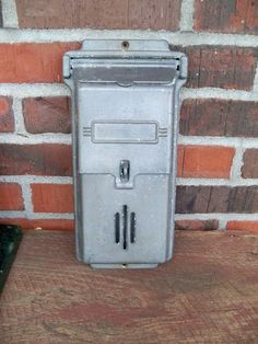 Vintage mail box for cards?