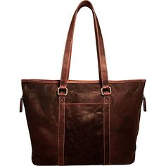 Jack Georges Voyager Zip Top Tote Bag - eBags.com a8947309ce666