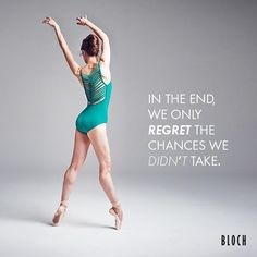 Take chances and live life to the full! 'we only regret the chances we didn't…