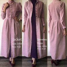 With pockets Abaya Fashion, Muslim Fashion, Fashion Wear, Modest Fashion, Girl Fashion, Fashion Dresses, Hijab Style, Hijab Chic, Iranian Women Fashion
