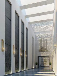 Mimar Interiors Mosque Architecture, Architecture Design, Modern Interior Design, Luxury Interior, Resort Interior, Modern Contemporary Homes, Design Model, Wall Design, Shoping Mall