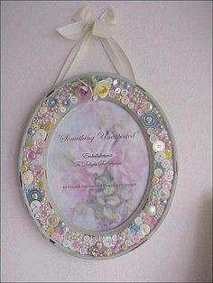 button mirror or frame