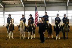 Chincoteague Pony Drill Team
