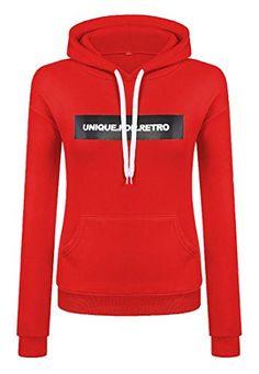70ca8df1ab56d tescous Women Drawstring Hoodies Long Sleeve Pullover Sweatshirt with Pocket