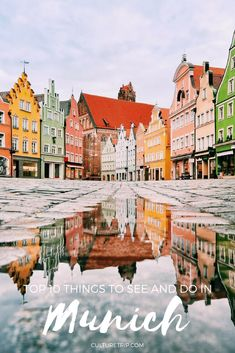 Whether you want to watch river surfers or visit one of its 80 museums, we whittle down Munich's sights to the 10 things you can't miss when visiting. Oh The Places You'll Go, Cool Places To Visit, Places To Travel, Europe Travel Tips, European Travel, Italy Travel, Travel Guide, Munich Germany, Germany Europe
