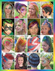 Want to add a new unique and fresh activity to your event, fair hair is the way to go. Fair Hair looks wild & crazy and it will be a big hit for your party.