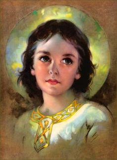 Florence Kroger...Jesus as a child