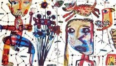 """DAVID LARWILL """"Tanya Goes to Melbourne"""" Limited Edition Serigraph"""