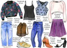 How To Update Your Wardrobe For Spring - We;ve got crop tops, palm prints, boho style and more coming your way!