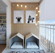 Dog Room Decor, Home Decor, Dog Bedroom, Puppy Room, Dog Spaces, Dog Area, Dog Furniture, Animal Room, Dog Rooms