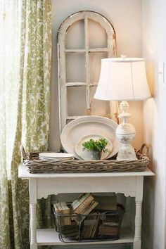 Kathy Kuo Home has a great collection of French Country Furniture, French Country decor, Shabby Chic decor, and Farmhouse Furniture. Shabby Chic Decor, Vintage Decor, Rustic Decor, Farmhouse Decor, Farmhouse Style, Farmhouse Lighting, Vintage Style, Vintage Books, Bedroom Vintage
