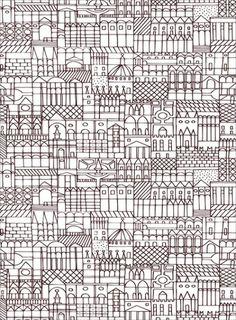 grid city // Alexander Girard