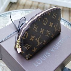 LV make up bag! My style love it!