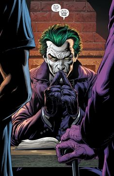 Joker Dc Comics, Joker Comic, Joker Art, Comic Art, Comic Books, Robin Comics, 3 Jokers, Three Jokers, Jokers Wild