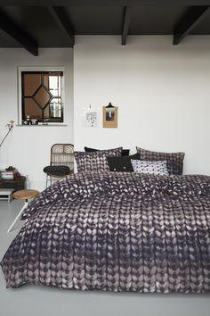 Beddinghouse dekbedovertrek flanel Edmonton donkergrijs ::Flanel::Dekbedovertrekken::Slaapkamer::De Linnenboom, de specialist in bed-, bad en keukentextiel
