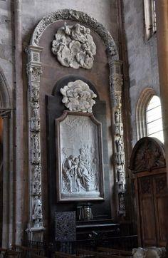 La chapelle des Trépassés.  Eglise Saint-Michel. Dijon. Bourgogne