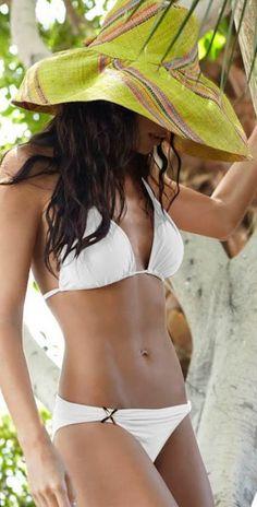 PilyQ 2013 White Slider Bikini - Swimsuits