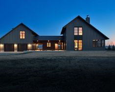 The farmhouse exterior design totally reflects the entire style of the house and the family tradition as well. The modern farmhouse style is not only for Farmhouse Architecture, Modern Farmhouse Exterior, Modern Farmhouse Decor, Industrial Farmhouse, Farmhouse Design, Modern Barn, Farmhouse Renovation, Modern Ranch, Urban Farmhouse