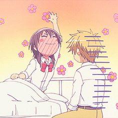 Funny Misaki and Usui.