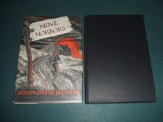 1958 1st Edition of Nine Horrors and a Dream by Brennan Arkham House nice Copy  | eBay
