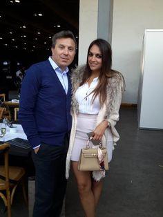 Rafa Micha y Adriana Gómez