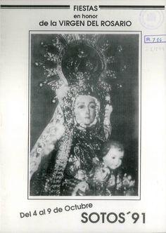 Fiestas en Sotos (Cuenca), en honor de la Virgen del Rosario. Del 4 al 9 de octubre de 1991. Exhibición de Gimnasia Rítmica. #Fiestaspopulares #Sotos #Cuenca